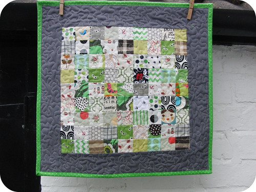 Quick Piece Tiny Squares: Front