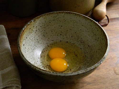 our first double-yolker!