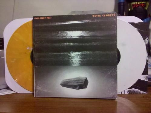 Against Me - Total Clarity 2xLP - Orange & White Vinyl