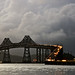 San Rafael Bridge - Rainy Day