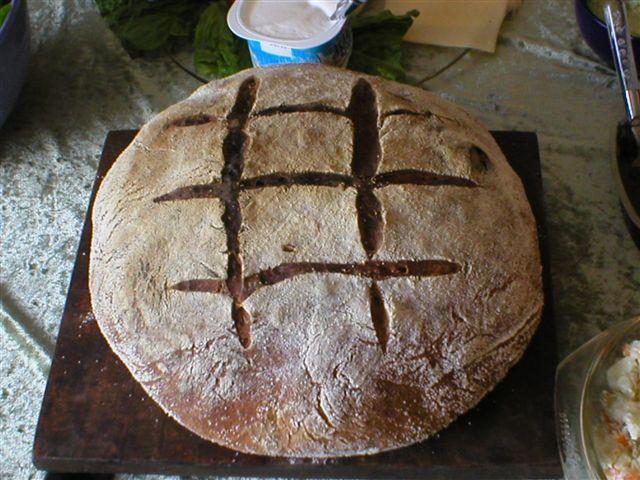 home-made Sourdough bread