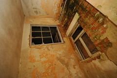 Fenster im Inneren des Gebäudes