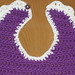 Small photo of Purple bib