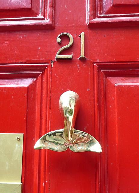 Whale of a door knocker flickr photo sharing - Whale door knocker ...