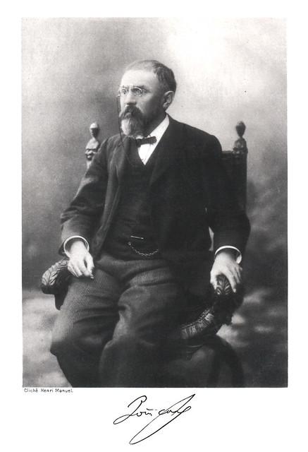 Portrait of Henri Poincaré (1854-1912), Mathematician