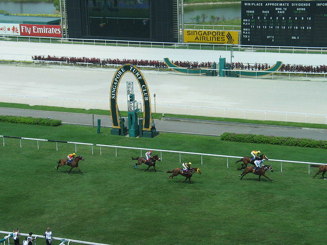 Singapore Turf Club horse racing | Flickr - Photo Sharing!