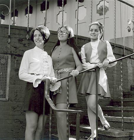 Yearbook Portraits, 1970 (28) - Mary Panepinto, Janet Louey and Zully Colon
