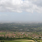 015-20080622NX_Graig Llanishen-Panorama 1B of Cardiff from Summit - Glamorgan - South Wales