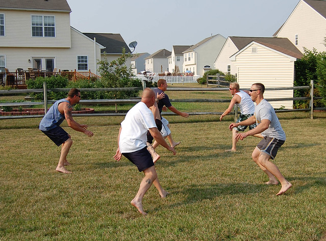 Ultimate Backyard Football : Backyard football  Flickr  Photo Sharing!