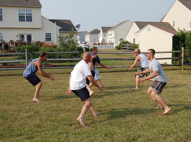 backyard football flickr photo sharing