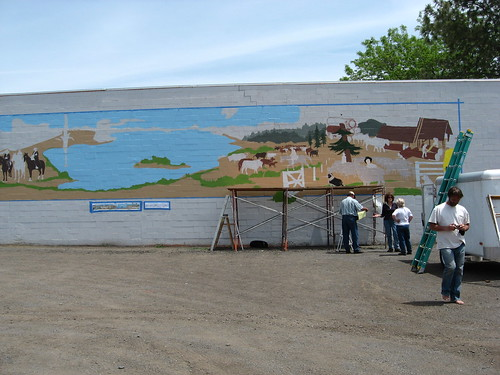 oregon mural 10 x historical ft 95 lakeview kel hiway 140