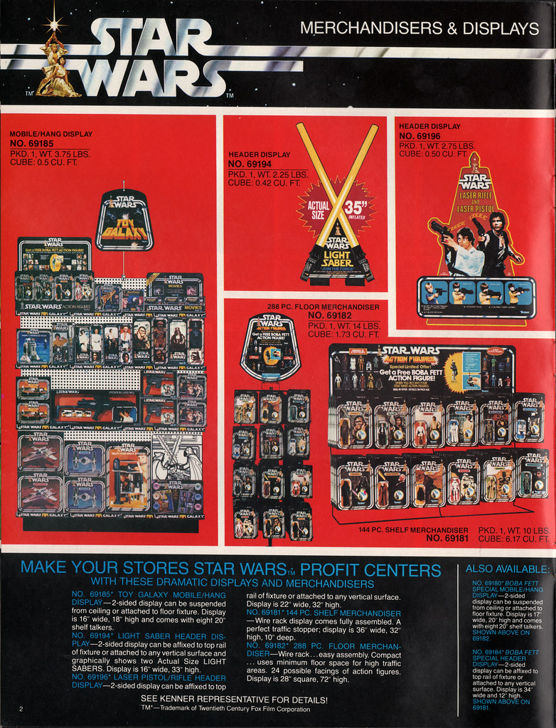 Kenner Star Wars product Supplement 1979 - page 03