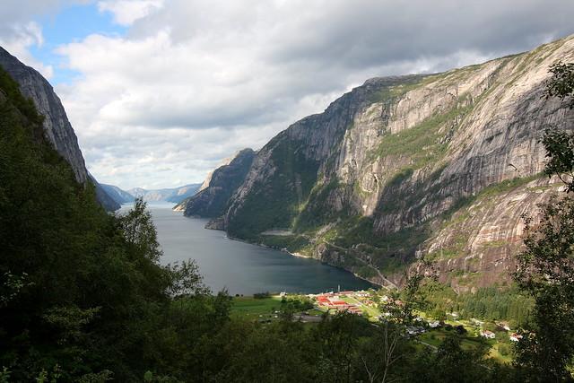 Lysefjord, Fiordo de Lyse, Noruega