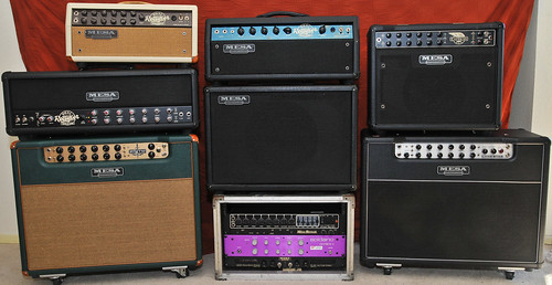 My Mesa/Boogie Amp Collection