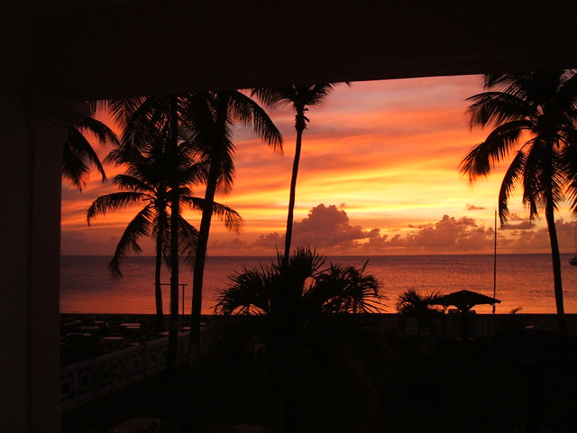 Sunset In St Lucia 2
