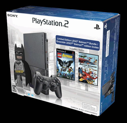 Help Save Gotham! Limited Edition PlayStation 2 LEGO ...