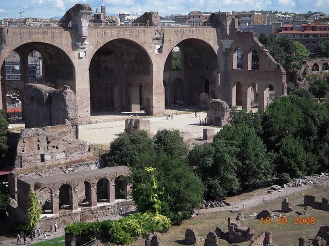161 - Palatino y Foro Romano