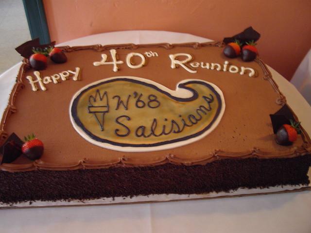 Class Reunion Cake Ideas