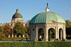 Hofgarten - München - Herbstimpressionen