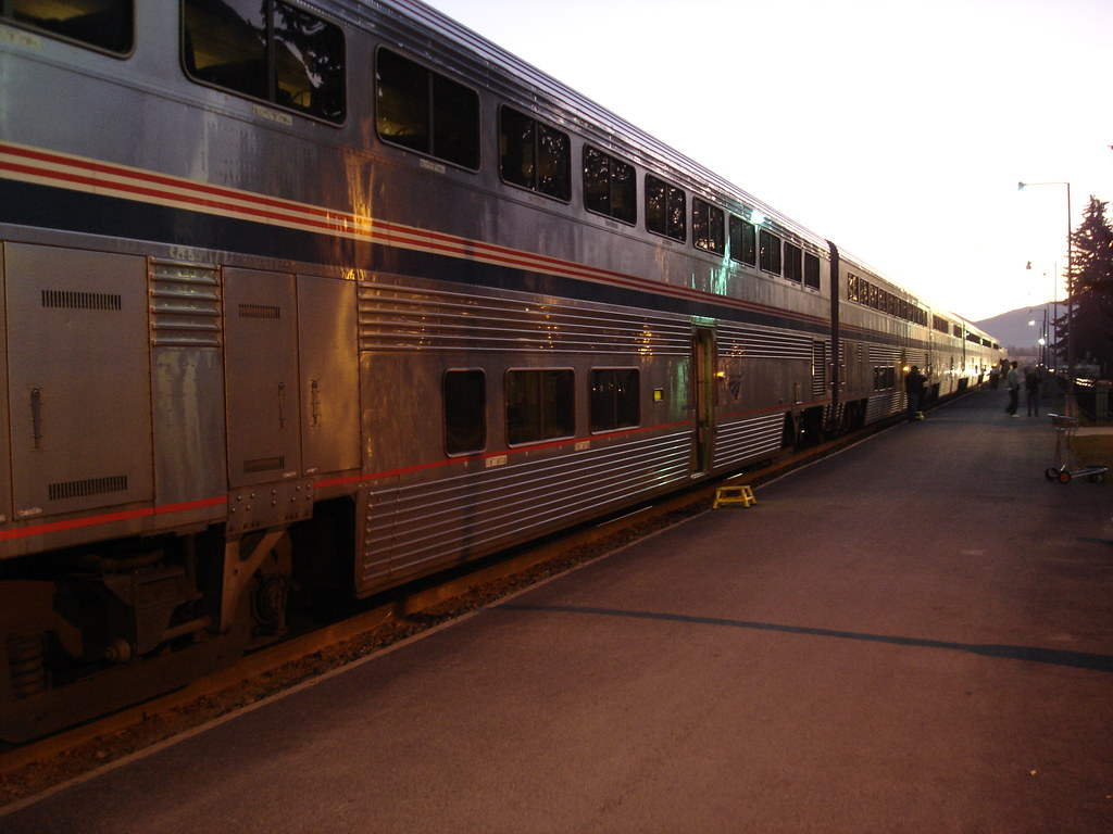 Amtrak in Whitefish