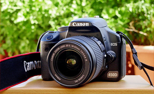 My Canon EOS camera