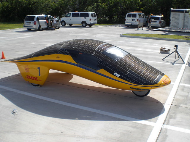 The Most Awesomest Solar Car At The Rayce This One S