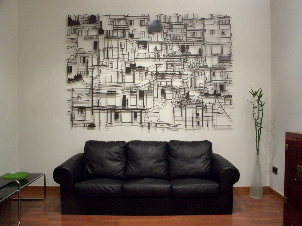 1000 images about apartment ideas on pinterest for Deco murale metal