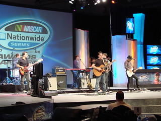 Marc Roberge and O.A.R. performing at the Nascar Nationwide Series Awards Banquet Photo credit: sergio_leenen on Flickr