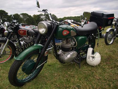 BSA 350cc Motorcycles - 1960