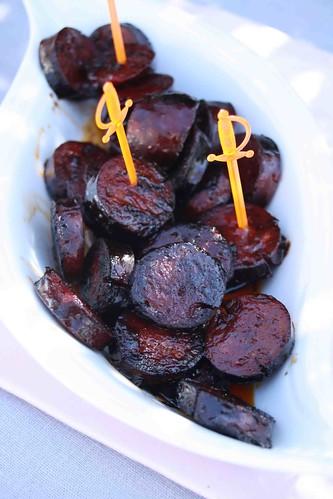 tapas patatas bravas chorizo au vin rouge et ros de saint pourcain chez becky et liz blog. Black Bedroom Furniture Sets. Home Design Ideas