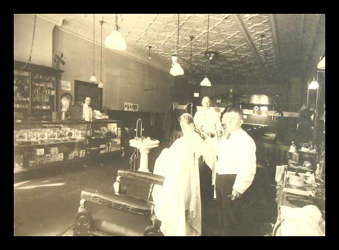 and Barber Shop (fabled in story and song), 109 North Main Street, Ann ...