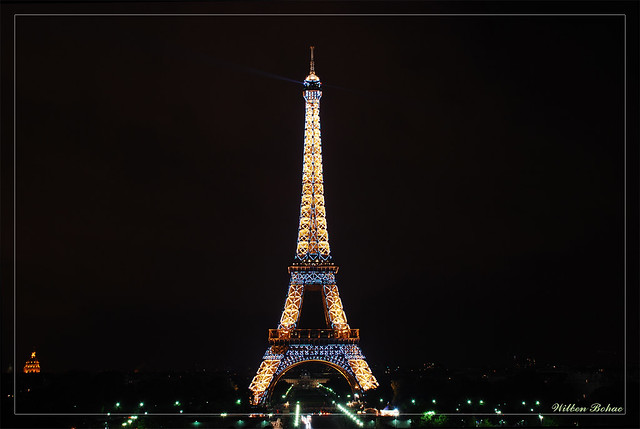 The center of all the attentions...Eiffel Tower