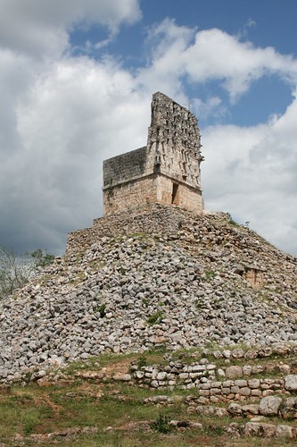 El Mirador, a temple on rubble that was once a pyramid