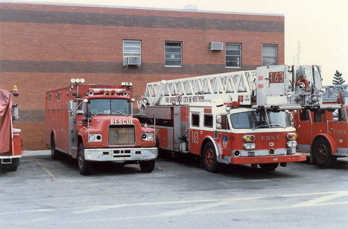 FDNY Ladder Tower 163 & Rescue 3
