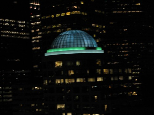 seattle, night, dusk, dome, lights, city IMG_1208