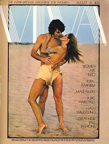 Viva magazine, August 1974 cover