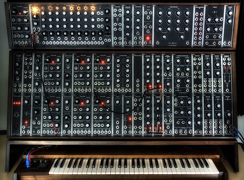 Modular Synthesizer Hdr Hdr Front Shot Of My Synthesizers Flickr