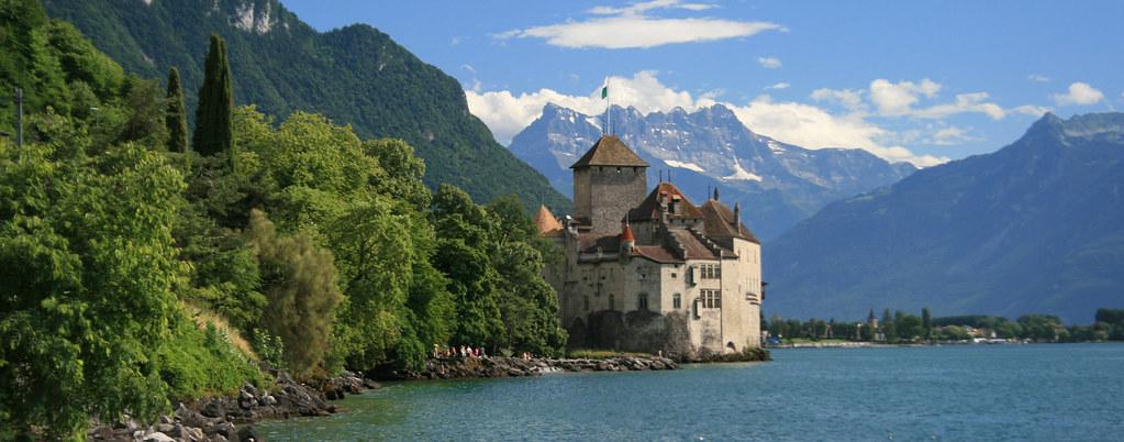 Castillo de Chillon panorámica