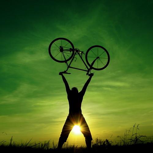 sunset wallpaper sky cloud bike bicycle backlight digital image tag gr saiko naturessilhouettes