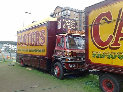 Carter's Steam Fair ERF Lorry