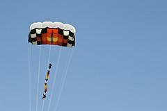 kite sports, parachute, sports, parachuting, windsports, extreme sport,
