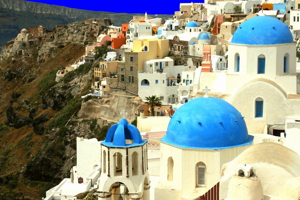Scenery, Oia, Santorini island