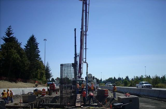 Pouring Concrete Vancouver Island