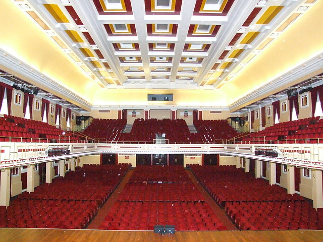 Auditorium Newcastle City Hall Flickr Photo Sharing