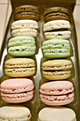 Macarons from Opera Patisserie