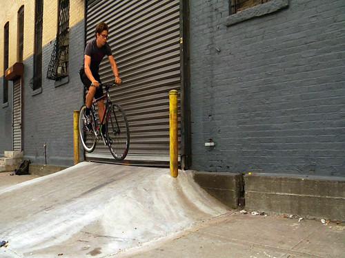Tom loading dock gap