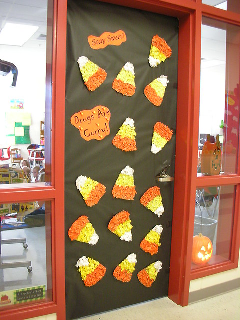 Classroom Door Decoration Ideas For October ~ Door decorations for red ribbon week stay sweet drugs
