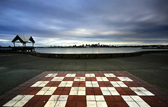 Checkered view of Vancouver - Color