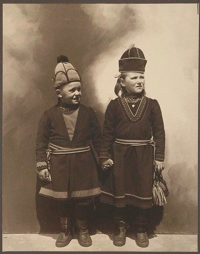 [Lapland children, possibly from Sweden.]