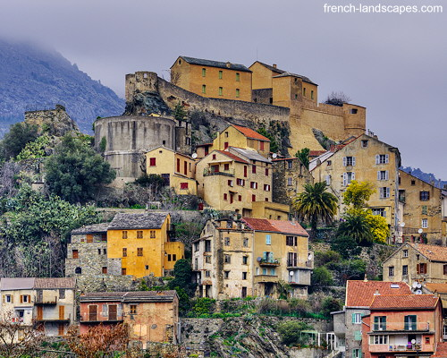 Winter morning in Corte - Corsica